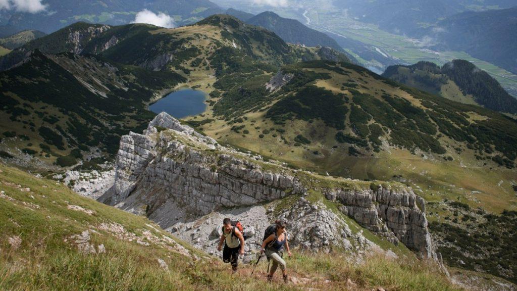 Adlerweg-Etappe im Rofan