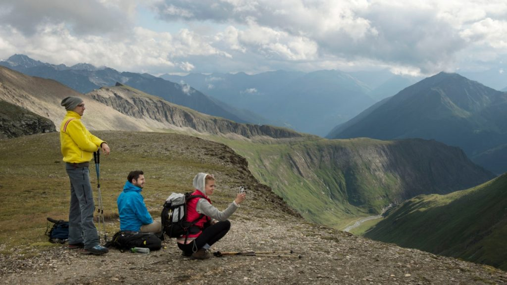 Adlerweg - Bergtour vom kalser Tauernhaus zur Stüdlhütte am fusse des Ggrossglockners
