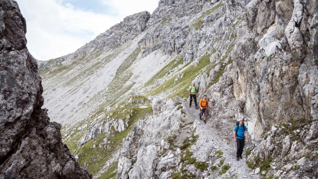 Adlerweg - Bergtour von der Hanauerhütte zum Württemberger Haus