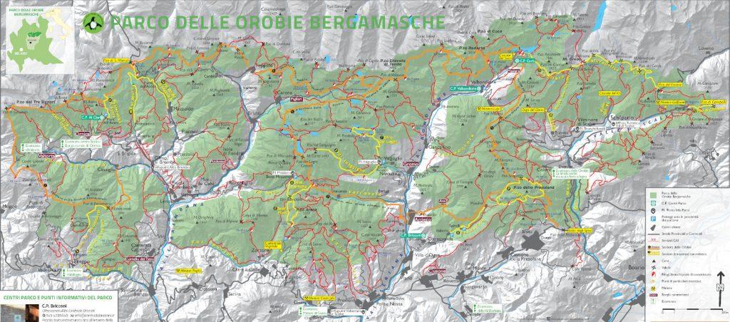 Wanderwege im Parco delle Orobie Bergamasche