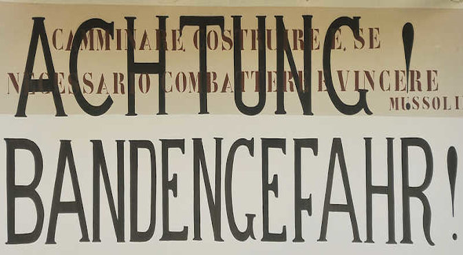 Bandengefahr | Partisanenpfade im Piemont