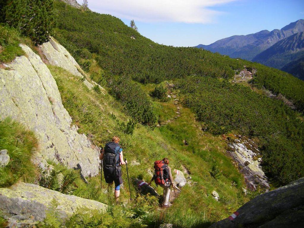 Zustieg zur Kattowitzer Hütte - 2321m