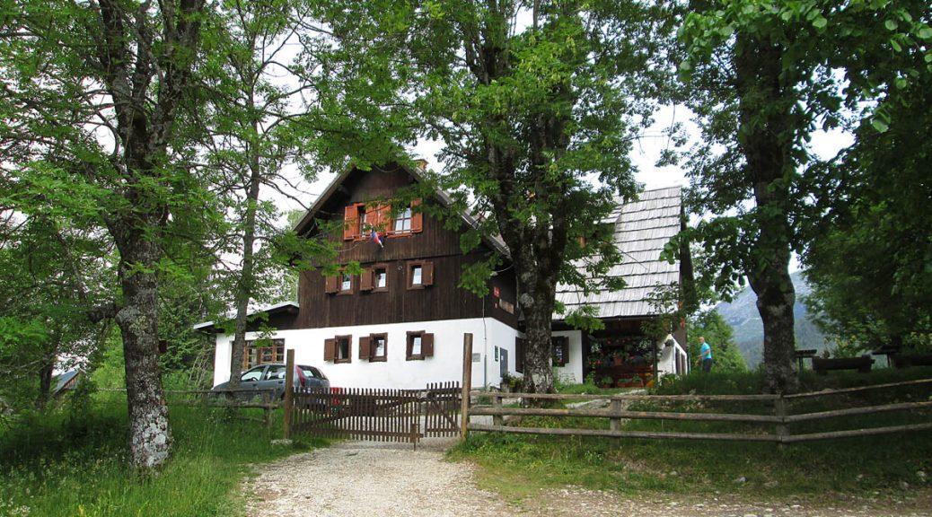 Abschied am Morgen von der Uskovnici-Hütte