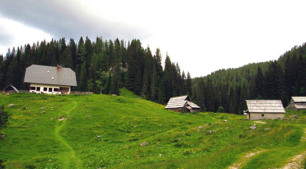 Koča na Planini pri Jezeru - 1453m