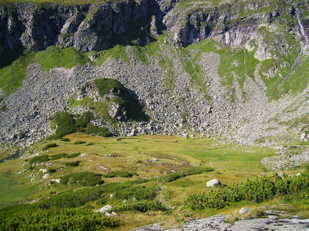 Krumpenkar auf dem Weg zur Kattowitzer Hütte