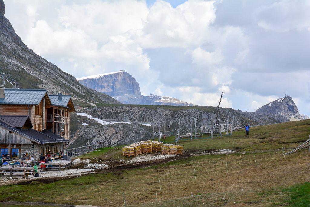 Plattkofelhütte Seiseralm - Rifugio Sasso Piatto