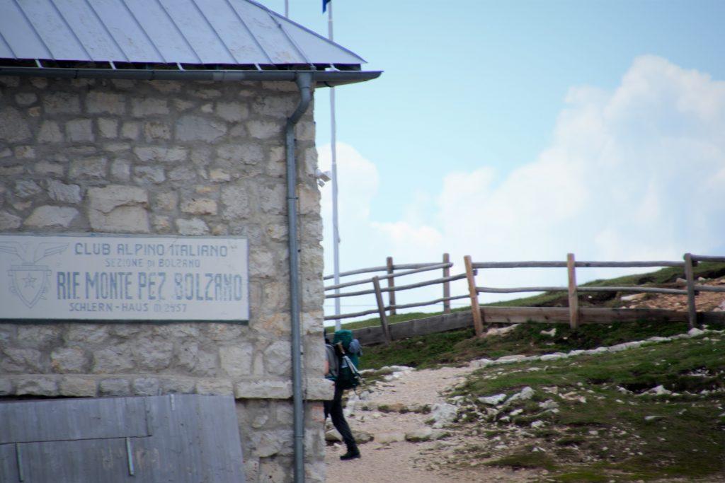 Ankunft am Schlernhaus - Rifugio Bolzano - 2437m