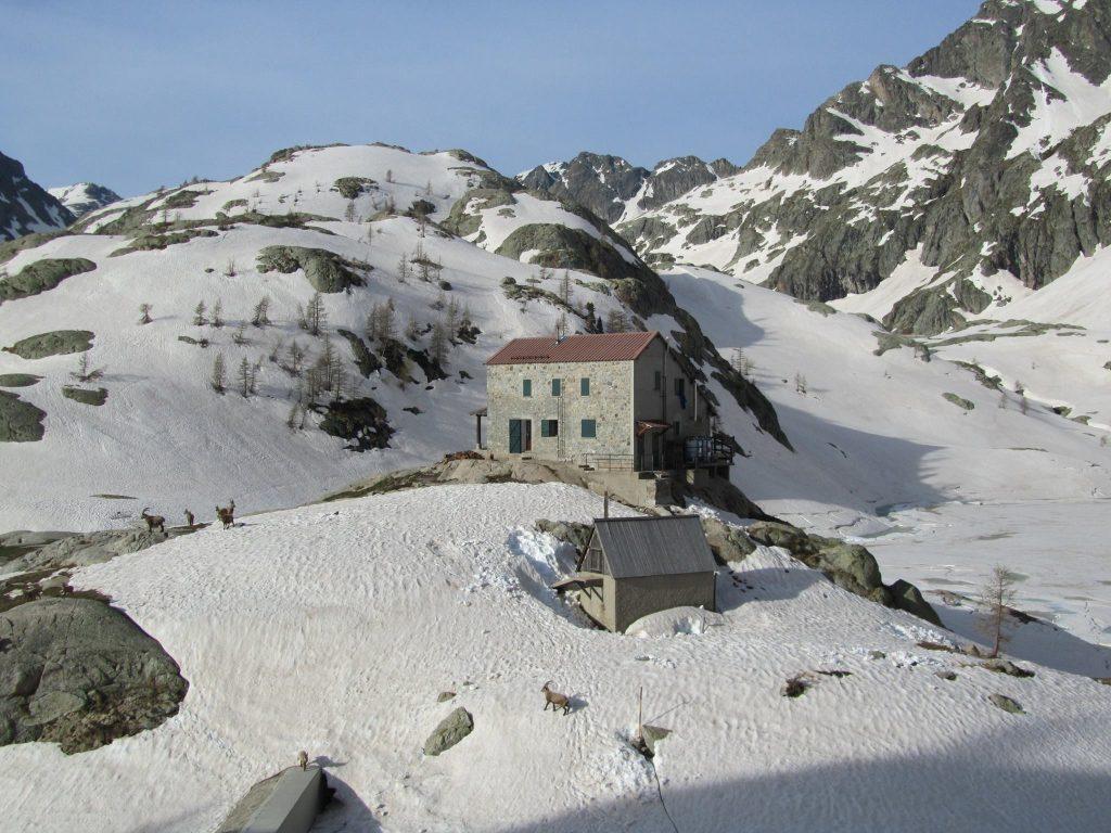 Refuge de Valmasque im Winter
